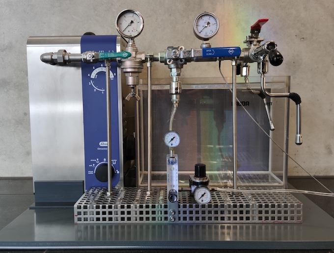 Wissenschaftliches Aufschäumsystem von Darius-Hummel für perfekten H-Milchschaum