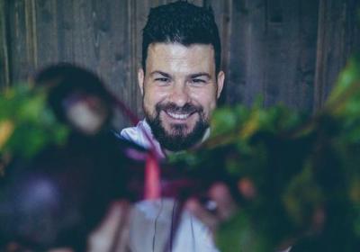 Andrés Benítez Vorreiter der Plant Forward Küche