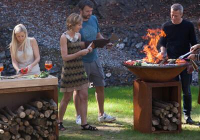 Drei gesundheitliche Vorteile vom Kochen im Freien... Foto: OFYR-Image-Image
